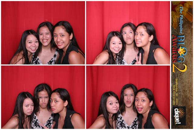 While the program was ongoing, we went to Cliquebooth and took lotsa