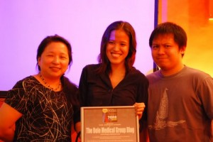 Ms. Janette Toral, Mica Rodriguez and Jehzeel Laurente