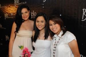Bea Alonzo, Cristalle Henares and Laila Chikadora