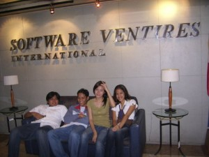 Vinz, Andy, Dyan and Mica @SVI