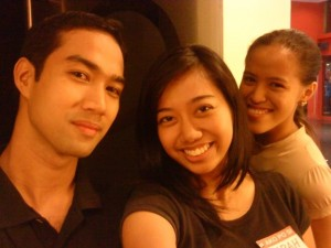 Carl, Sarah and Mica - Go with the FLO :D