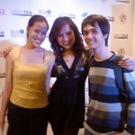 Mica and Aaron with Ms. Rustia