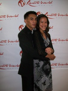 With my prom date, AJ *blush*
