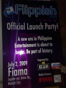 Flippish Official Launch Party!