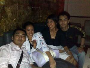 Alan, Me, Shena and Aaron