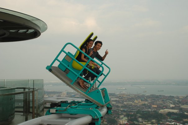 Edge Coaster at Crown Regency Hotel