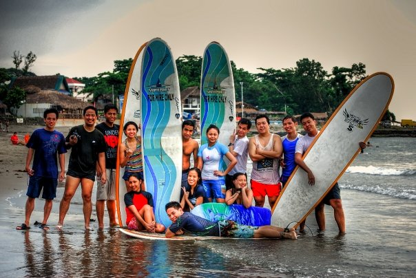 Blogger Surfers in La Union