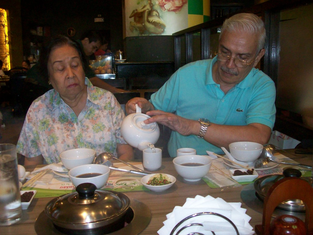 Lolo and Lola at Healthy Shabu Shabu