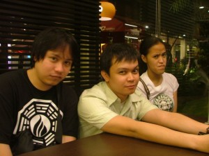 NYOKsters at Kuya Drew's Birthday Treat - Jehz is now a suicidal emo kid haha :P