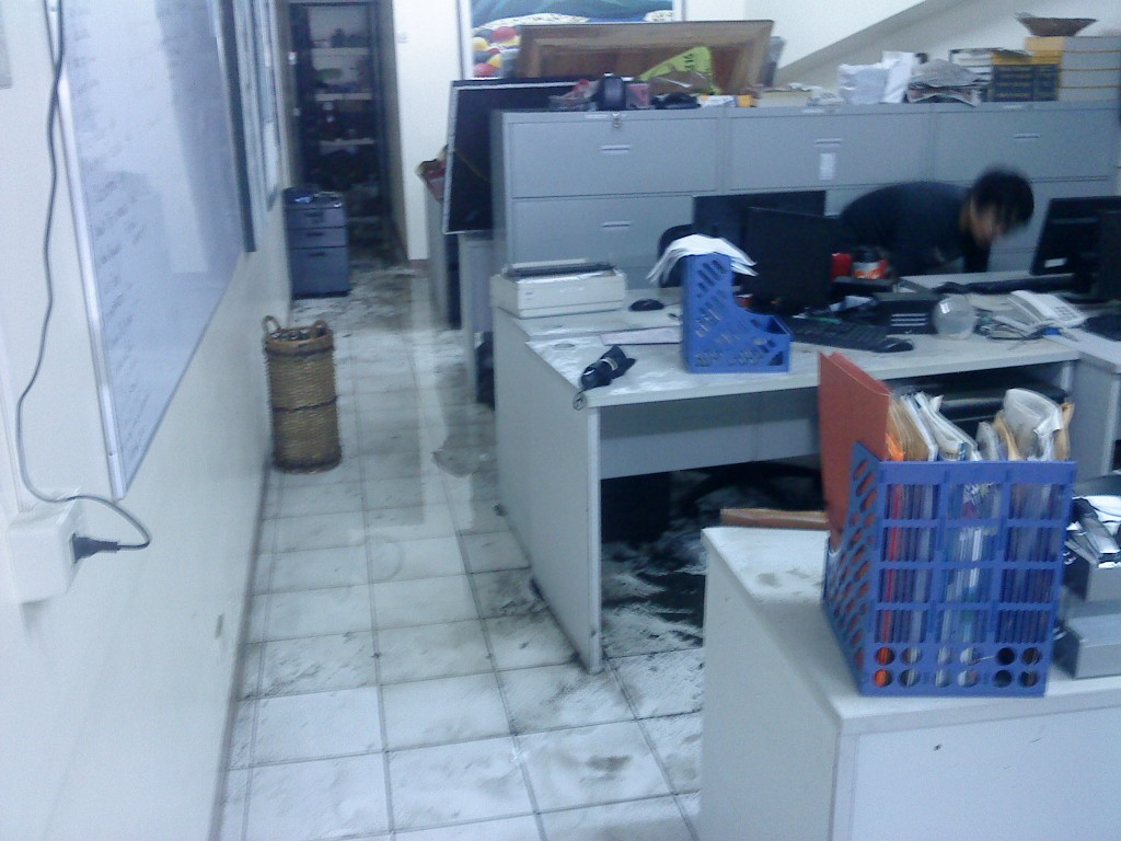 My Wet Workstation =(
