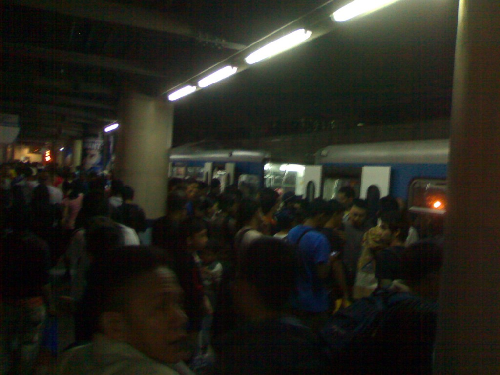 October 31 MRT Santolan-Annapolis Station