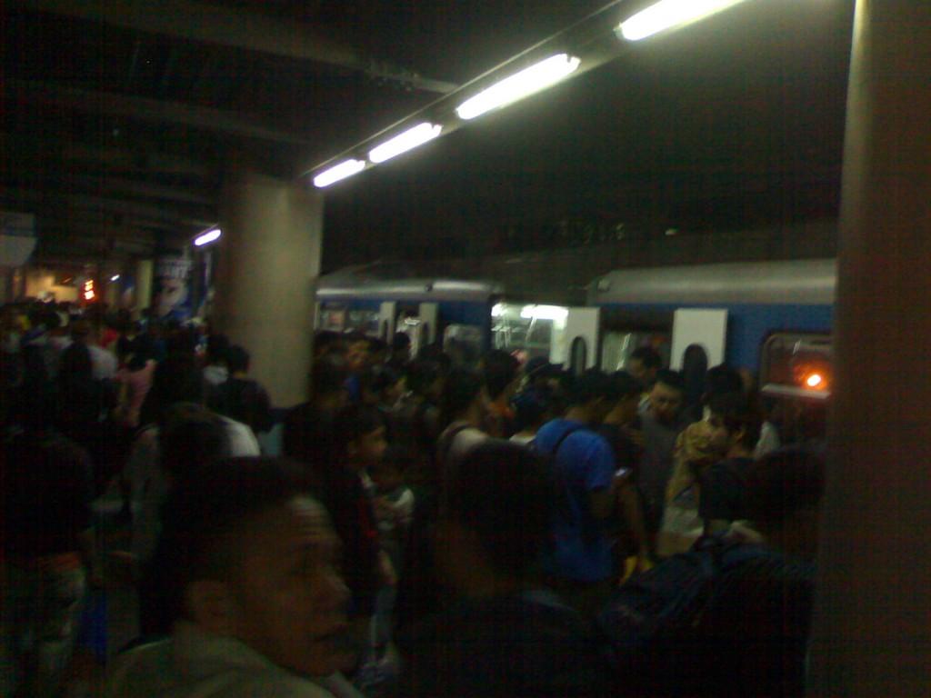 October 31 MRT Santolan-Annapolis Station