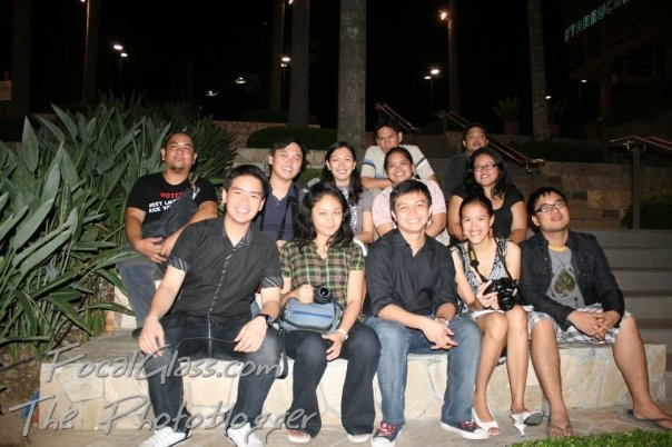 Manila Bloggers after PBA '09 Visayas Leg Awards Night