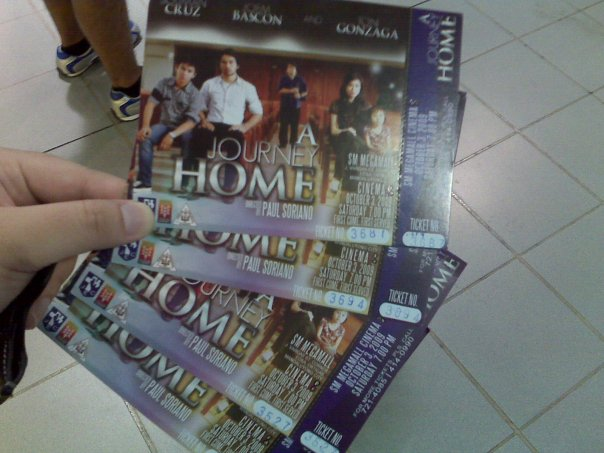 A Journey Home premiere night tickets