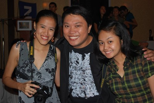 With the smiling Atty Ethelbert this time :D