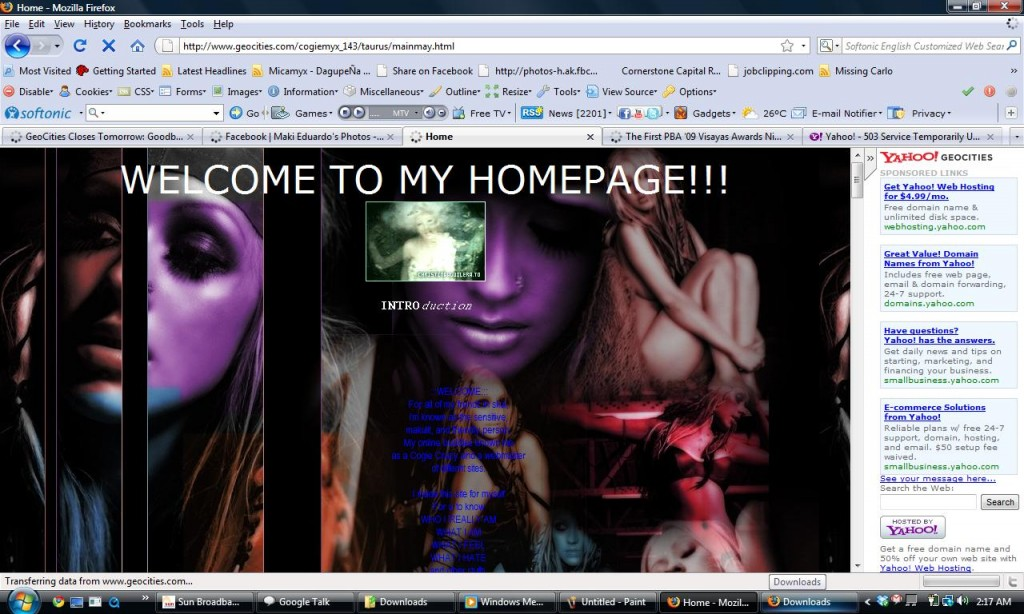 Welcome to my Homepage! - Very Xtina-ish!