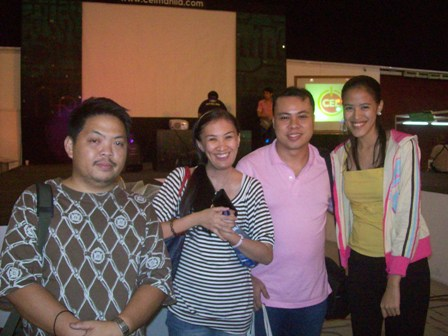 Juned, Aileen, Jay and Mica