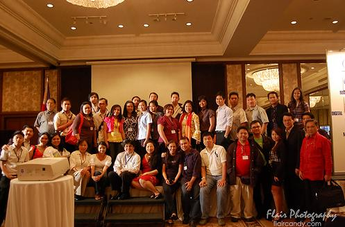 Digital Filipino Web Awards Group Shot