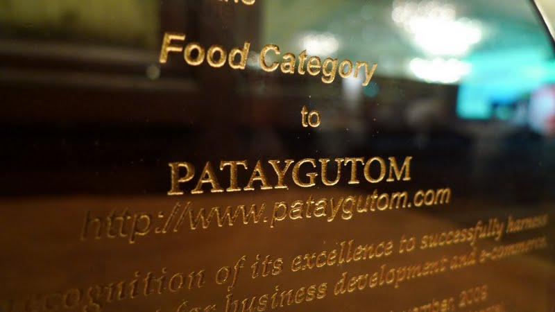 Patay Gutom won under the Food Category
