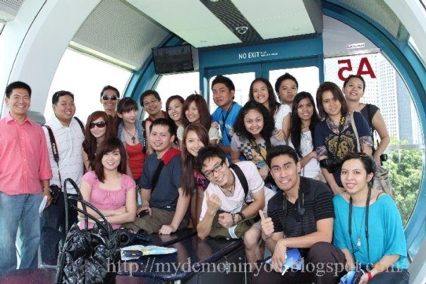 Nuffnang Bloggers at Singapore Flyer By Ming