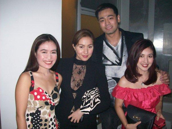 Madz, Cristine, Hayden and Ana at The Lounge