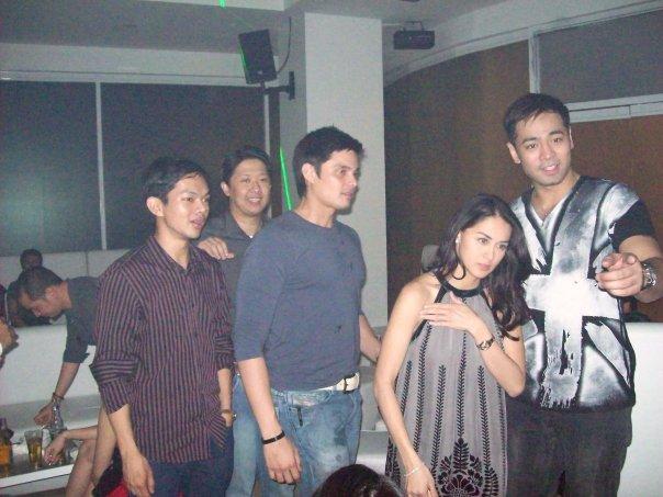 Dingdong Dantes and Marian Rivera at The Lounge