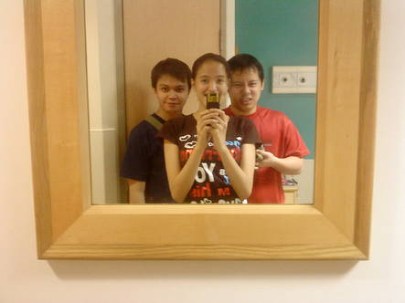 March 2009 - Me with my two SEO Nyoks