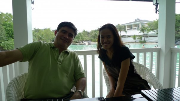 Bonding with Tito Gerry at Plantation Bay