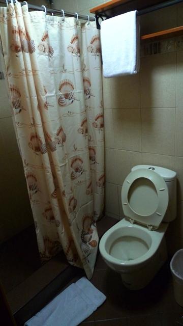 Clean Restroom at Jupiter Suites