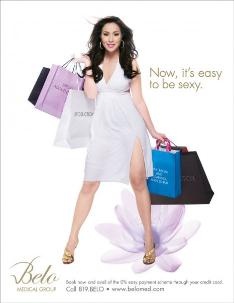 Cristine Reyes as Belo Medical Group's Celebrity Endorser
