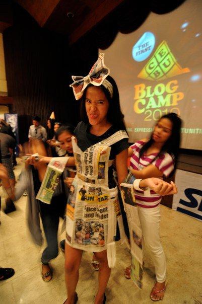My Short Stint as a Newspaper Model LOL