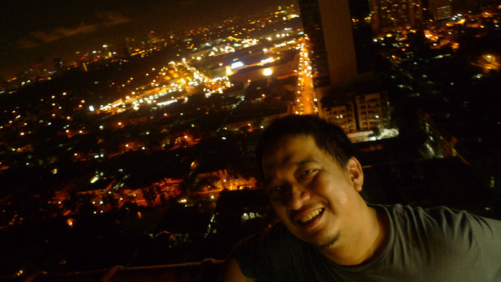 Don Trivino lovin' the view. Bonggaba?!