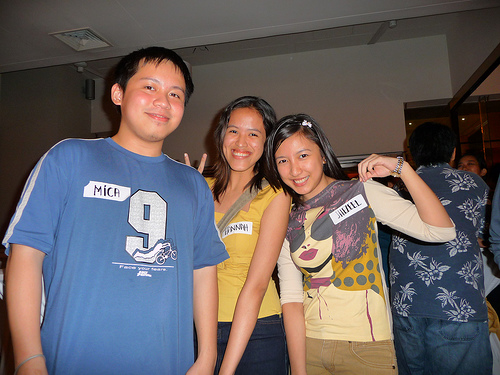 Switching names - Who's the real Jehz, Mica and Hannah? :P (October 2008)