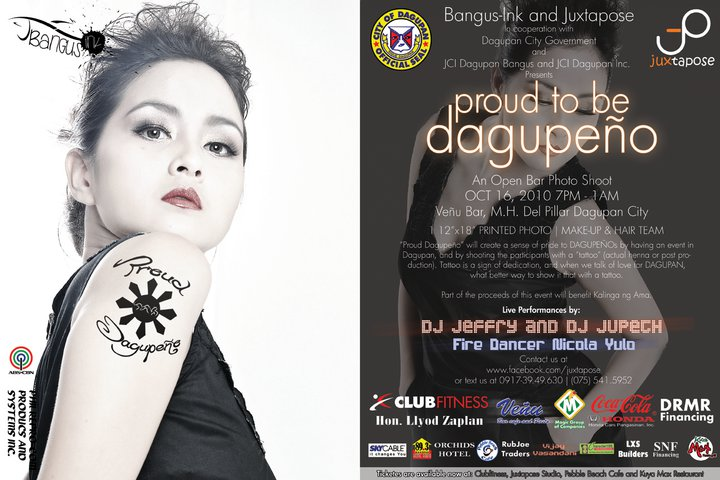 Proud to be Dagupeno Poster featuring Luffel Cornista