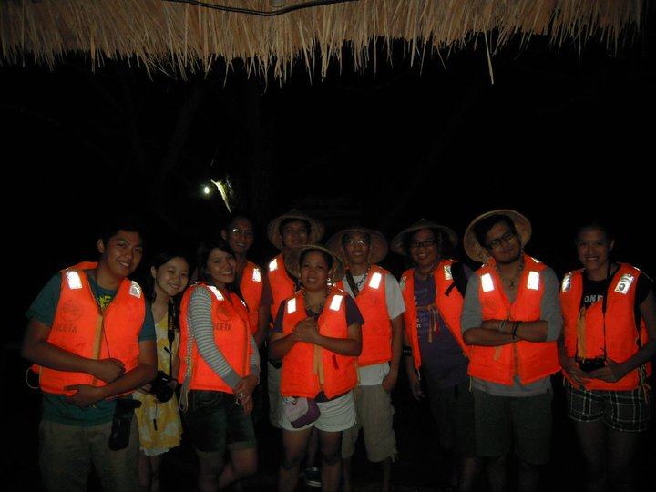 APX Troupe all geared-up for the Iwahig Firefly Watching