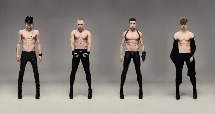 KAZAKY Original Members: Oleg, Kyrille, Artur and Stas