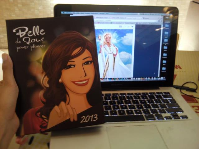My Belle the Jour Planner 2013 Planner - Thanks, Mama Ru!