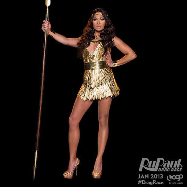Vivienne Pinay in Rupaul's Drag Race Season 5