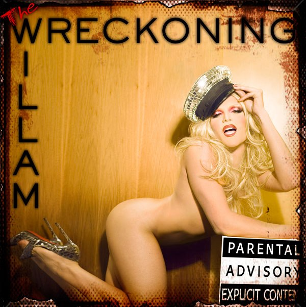 Willam Belli's 'The Wreckoning' Album Cover
