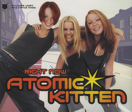 Atomic Kitten 'Right Now' (1999 or 2000)