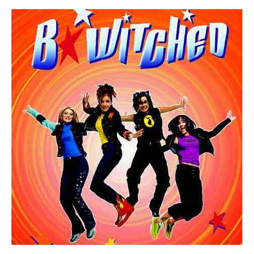 B*Witched debut album cover (1998)