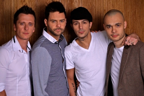 5IVE GONE FOUR: Ritchie, Scott, Abs and Sean... still hoping to see J!