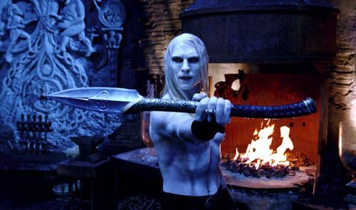 Luke Goss as Prince Nuada in Hell Boy 2: The Golden Army