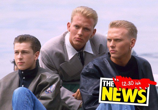 80's Boy Band BROS: Craig Logan, Matt and Luke Goss