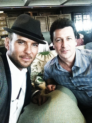 Matt Goss and Craig Logan's reunion after more than a decade.