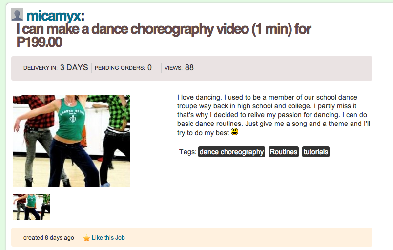 Need new dance routines? Hire me!