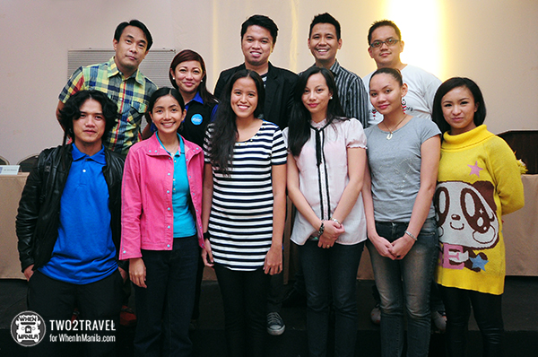 With the speakers and organizers of The 2nd Baguio Blog Conference