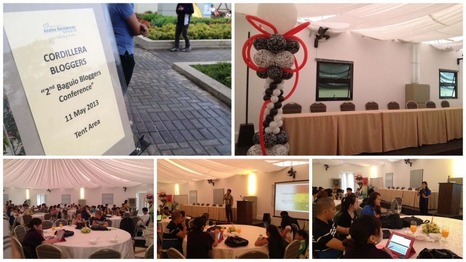The 2nd Baguio Blog Conference in Azalea Residences