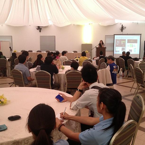 Niche Blogging Talk at the Baguio Blog Conference
