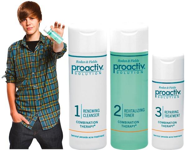 Justin Bieber endorses ProActiv. U betta Belieber!